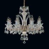 Tomia L 110/08/400 Royal Family Danube 8-Light Crystal Chandelier