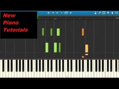 How to play Hello on piano by Adele - Adele Hello Piano Tutorial - YouTube