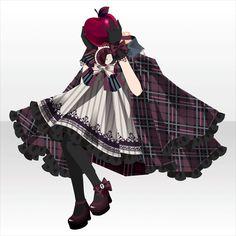Vaya con dios.|@games -アットゲームズ- Anime Outfits, Dress Outfits, Dress Up, Cute Outfits, Cute Fashion, Girl Fashion, Fashion Design, Anime Dress, Cocoppa Play