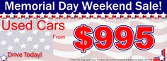 memorial day car sales 2015 nj