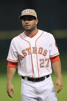 Houston Astros camo baseball uniforms