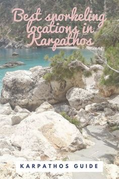 Snorking in Karpathos is amazing. But what are the best spots? I'll tell you in this blog! #karpathos #greece #blog #blogger #travelblog #snorkeling