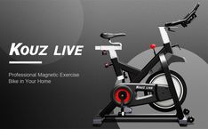 """""""Features & Reviews"""" KOUZ LIVE Exercise Bikes Magnetic Resistance, Indoor Stationary Bikes for Home Workout, Quiet Belt Drive with LCD Monitor & Professional Seat & Ipad Mount, 330lb Capacity Cycling Bike #BikeExerciseNewReleases #BikeExercise #KOUZLIVE #KOUZLIVEExerciseBikesMagneticResistance #IndoorStationaryBikes #KOUZLIVEExerciseBikesMagneticResistance #ExerciseBikesMagneticResistance Exercise Machine, Workout Machines, Ipad Mount, Belt Drive, Lcd Monitor, Cycling Bikes, At Home Workouts, Stationary, Magnets"""
