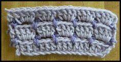 Free Crochet Patterns Crochet Video: Brick Crochet Stitch ༺✿ƬⱤღ  http://www.pinterest.com/teretegui/✿༻