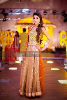 Embroidered Wedding and Party Wear Lehenga Choli and Ghagra Choli Designs Pakistani Mehndi Dress, Dulhan Dress, Bridal Mehndi Dresses, Pakistani Formal Dresses, Pakistani Wedding Outfits, Pakistani Wedding Dresses, Bridal Wedding Dresses, Indian Dresses, Wedding Wear