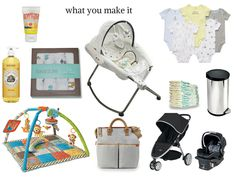 what you make it: baby registry must-haves