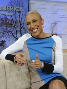 Robin Roberts will return to 'Good Morning America' on Feb. 20, five months to the day since she underwent a bone marrow transplant to treat a rare blood disorder. (via @USA TODAY; photo: Ida Mae Astute, AP)