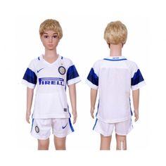 #Inter Milan Trøje Børn 16-17 Udebanetrøje Kort ærmer,199,62KR,shirtshopservice@gmail.com