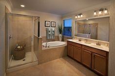 Gorgeous master bathroom in Lennar's 'Next Gen' home!