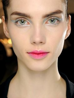 Look Now: Blurred Lips: Makeup: allure.com