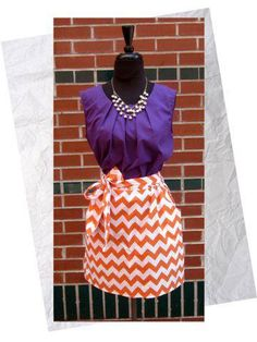 Chevron skirt by Holy Moly Designs - all the rage -    www.be-u-taful.com