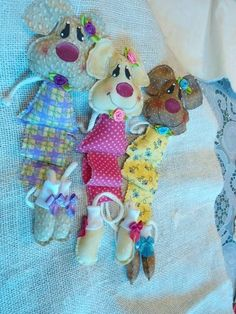 Marcador de página de cachorro New Crafts, Diy And Crafts, Rabbit Crafts, My Bookmarks, Book Markers, Baby Sewing, Books, Handmade, Bookmark Craft