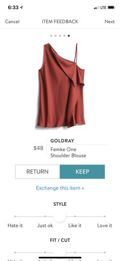 Love this color and I think this style shirt would be fun to try.
