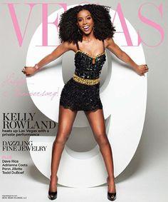 Kelly Rowland – Vegas Magazine Summer 2012