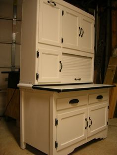 A Hoosier Cabinet Would Be Great, Especially With The Slide Out Shelf.