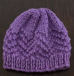 Thankyou for considering knitting for our community. The pictured beanies were knitted using 3.25mm needles and 4 ply 50% cotton 50% acrylic wool and therefore the pattern and overall sizing reflects this. Use of different sized needles will most likely result in a slight difference in over