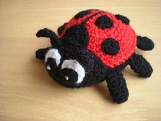 Ravelry: Ladybird pattern by emmhouse Crochet Amigurumi, Crochet Dolls, Crochet Baby, Amigurumi Doll, Free Crochet, Knit Crochet, Crochet Crafts, Yarn Crafts, Crochet Projects