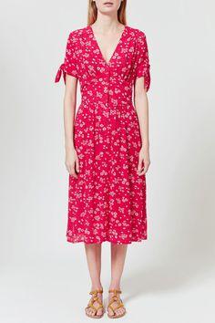 Rouje floral midi dress