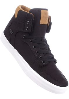Supra Vaider, Shoe-Men, black-brown Titus Titus Skateshop #ShoeMen #MenClothing #titus #titusskateshop