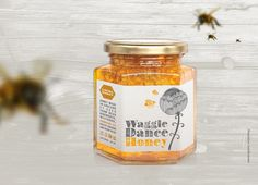 Lee Hiom Design - Highworth, Swindon, Graphic Design, Branding, Print, Photography, Web Design - Waggle Dance Honey