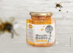 Lee Hiom Design - Highworth, Swindon, Graphic Design, Branding, Print, Photography, Web Design - Waggle Dance Honey