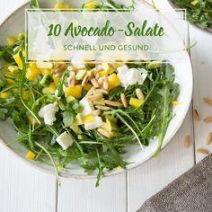 Im Sommer brauchst du Salate, die satt machen, aber nicht schwer im Magen liegen. Die Basis dieser 15 Sommersalate: Quinoa, Melonen und reichlich Gemüse.