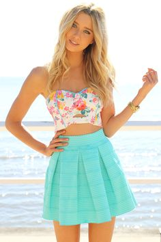 Wonderland Skirt - Mint