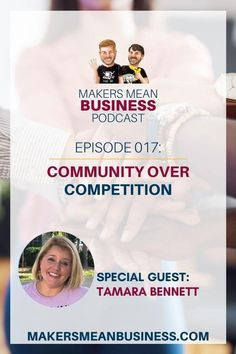 Damon talks with Tamara Bennett about how community over competition and being authentically you can help you be successful.