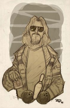 The Big Lebowski by DenisM79.deviantart.com on @deviantART