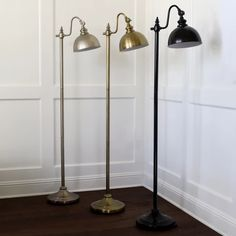 Pharmacy Floor Lamp Bronze (Lamp Only) - Decor Therapy : Target