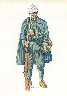 """Regio Esercito - CAPORALMAGGIORE DEL 52° REGGIMENTO, BRIGATA """"CACCIATORI DELLE ALPI"""" (1915-1918)"""