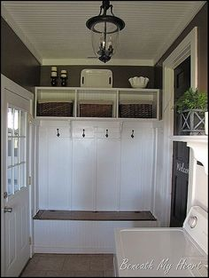 This family added a Mudroom to the garage.