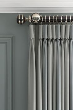 goblet pleated drapery
