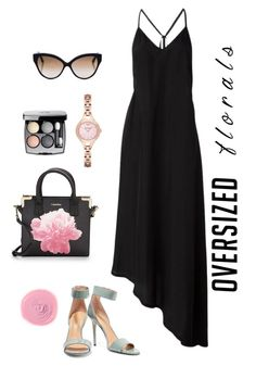 """""""Untitled #235"""" by stephanie-visconti ❤ liked on Polyvore featuring Calvin Klein, Nostra Santissima, Rituel de Fille, Halston Heritage, Chanel, Cutler and Gross, Emporio Armani and oversizedflorals"""