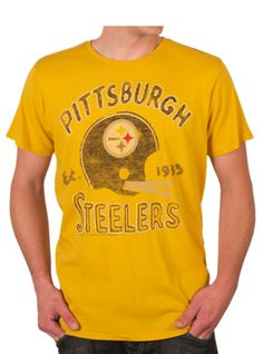 Pittsburgh Steelers!  Get your game day shirt in time for their Jan 8th Playoff game from www.junkfoodclothing.com  $36