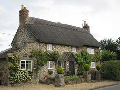 ◘•π•◘ thatched cottage, Sandy Lane, Wiltshire by kiwigirl ◘•π•◘