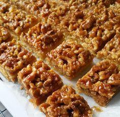 Walnotenplaatkoek – Food And Drink Dessert Cake Recipes, No Bake Desserts, Food Cakes, Pie Cake, No Bake Cake, Savory Pastry, Sweet Pie, Happy Foods, Cake Cookies
