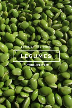 Learn about the great benefits of adding legumes to your diet.