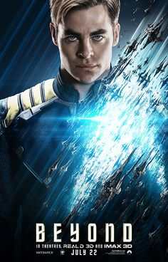 News - Paramount has released the next wave of Star Trek Beyond character posters, and they showcase Chris Pine as Kirk and Idris Elba as Krall.