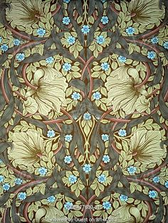 Wallpaper, by William Morris. England, late 19th century