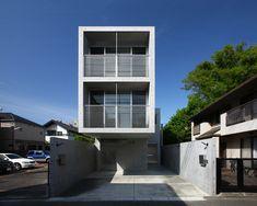 atelier hako architects cantilevers minamikarasuyama house - designboom   architecture