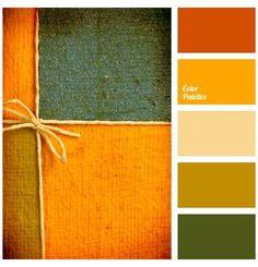 Orange Color Palettes, Color Schemes Colour Palettes, Green Colour Palette, Bedroom Color Schemes, Color Combos, Green Contrast Color, Pantone Verde, Room Colors, Paint Colors