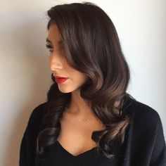 This #glamourous #hairstyle was made possible by the #TonyOdisho Infrared #CurlingIron!