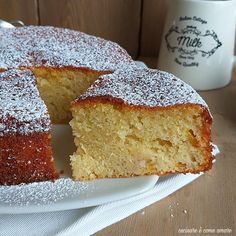TORTA DOLCE PAN DI PESCA ricetta facile Bakery, Sweets, Bread, Dolce, Biscotti, Food, Fishing, Food Cakes, Gummi Candy