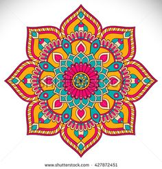 Find Flower Mandalas Vintage Decorative Elements Oriental stock images in HD and millions of other royalty-free stock photos, illustrations and vectors in the Shutterstock collection. Thousands of new, high-quality pictures added every day. Mandala Art, Mandala Design, Mandala Drawing, Mandala Painting, Dot Painting, Mandala Tattoo, Mandala Oriental, Motif Oriental, Oriental Pattern
