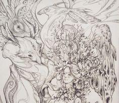 fianrisse Best Artist, Sketch, Gallery, Sketch Drawing, Roof Rack, Sketches, Tekenen, Draw