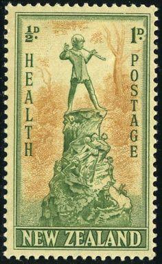 King George VI Postage Stamps: New Zealand 1945 Health Stamps Old Stamps, Rare Stamps, Vintage Stamps, Charley Harper, George Vi, Vanuatu, Beatrix Potter, Commonwealth, Libros Pop-up
