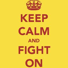 Keep calm and Fight On. #USC #Trojans