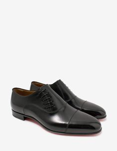 Calf Leather, Black Leather, Jack Black, Formal Shoes, Calves, Christian Louboutin, Oxford Shoes, Dress Shoes, Lace Up