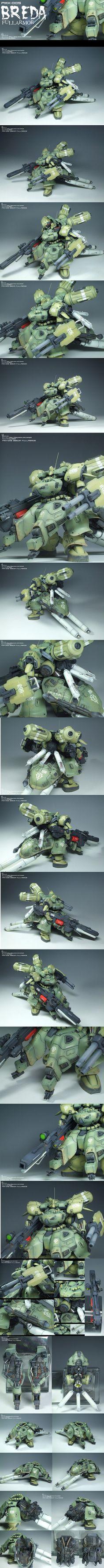 PMX-005 BREDA Full Armor